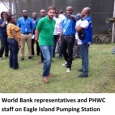 Inspection of Eagle Island pumping station
