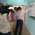 PHWC Business District supervisor explains water supply system to NTA journalists