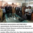 PHWC & World Bank at Min. of Water Resources