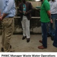 PHWC & World Bank at Waste water treatment plant