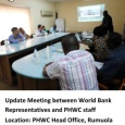 PHWC & World Bank meeting