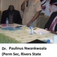 Perm. Sec. Min. of Water Resources at PHWC stakeholder meeting