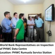 World Bank at PHWC Data centre