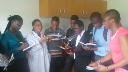 STUDENTS OF NATIONAL OPEN UNIVERSITY OF NIGERIA PORT HARCOURT VISIT PHWC WATER QUALITY TEST AND ANALYSIS LABORATORY