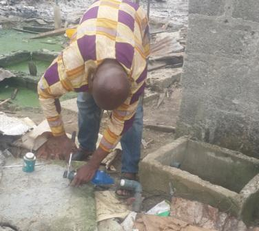 PHWC BEGINS METER RECOVERY EXERCISE AT EAGLE ISLAND, PORT HARCOURT